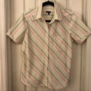 Talbots Shirt - S/Sleeved Buttoned - Size Medium